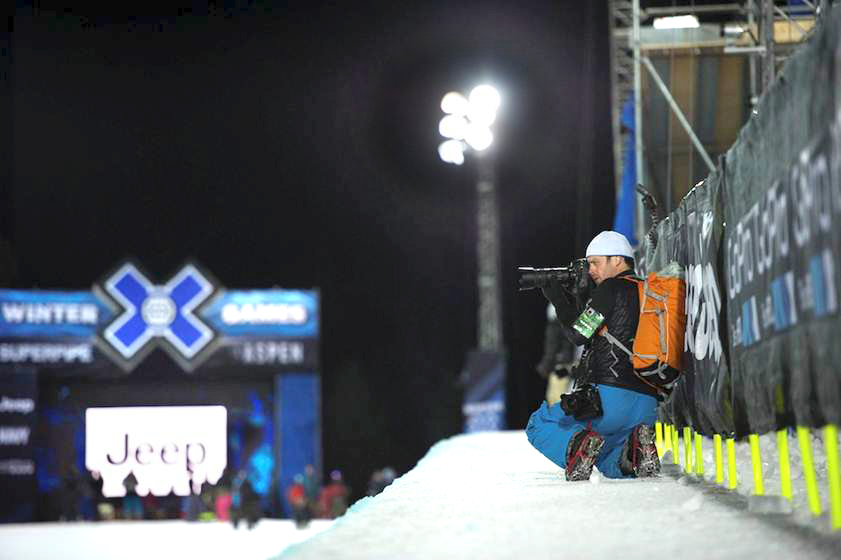 © Joshua Duplechian. 2013 Winter X Games Aspen