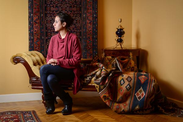 Aida El Torie, Art Writer & Curator of 6Cairo Art Gallery. © Nour El Refai