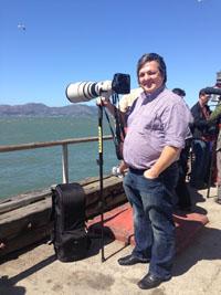 J Pierson with Lens Trekker 600 AW. © Ryan Hertzel