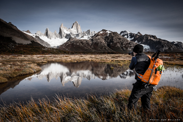 Joseph Roybal shooting in South America. © Dan Ballard