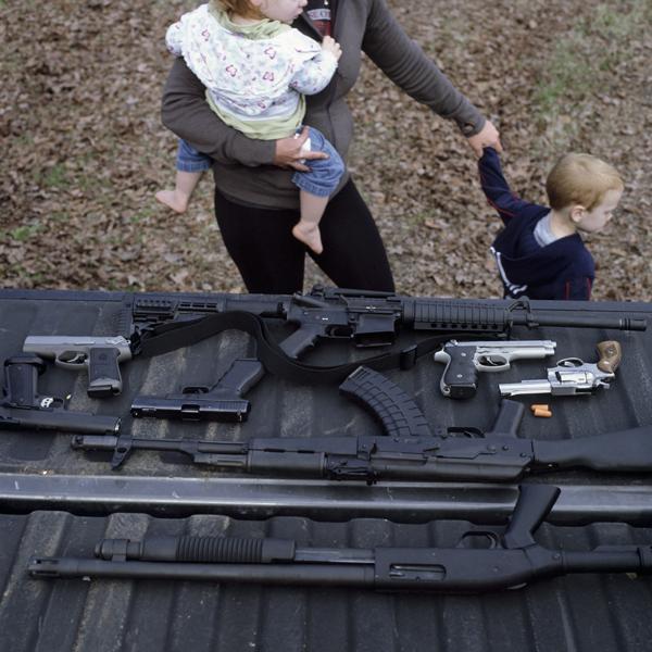 Guns. © George Marshall