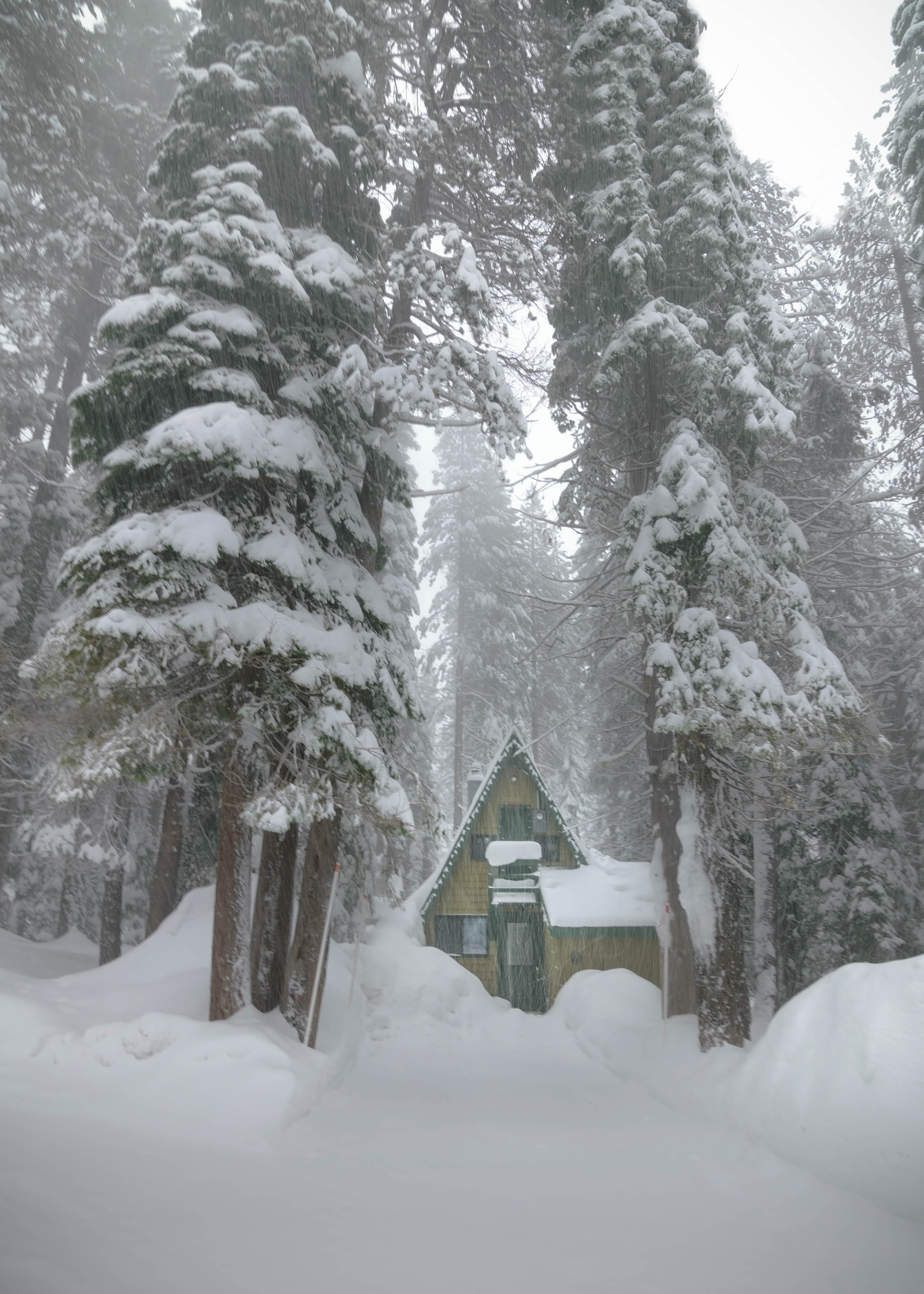 Soda Springs California - Exploring Winter