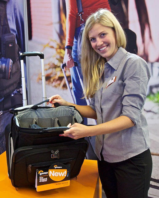 The Lowepro Pro Roller Attache x50 is as functional as it is stylish.