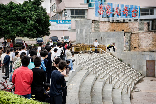 Kris Vile - Ollie at Guangdong Province - Image by Percy Dean