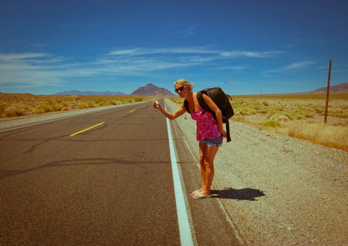 Hitchhiker - Charlotte Trotman ( featuring Lowepro Pro Runner 450 AW )