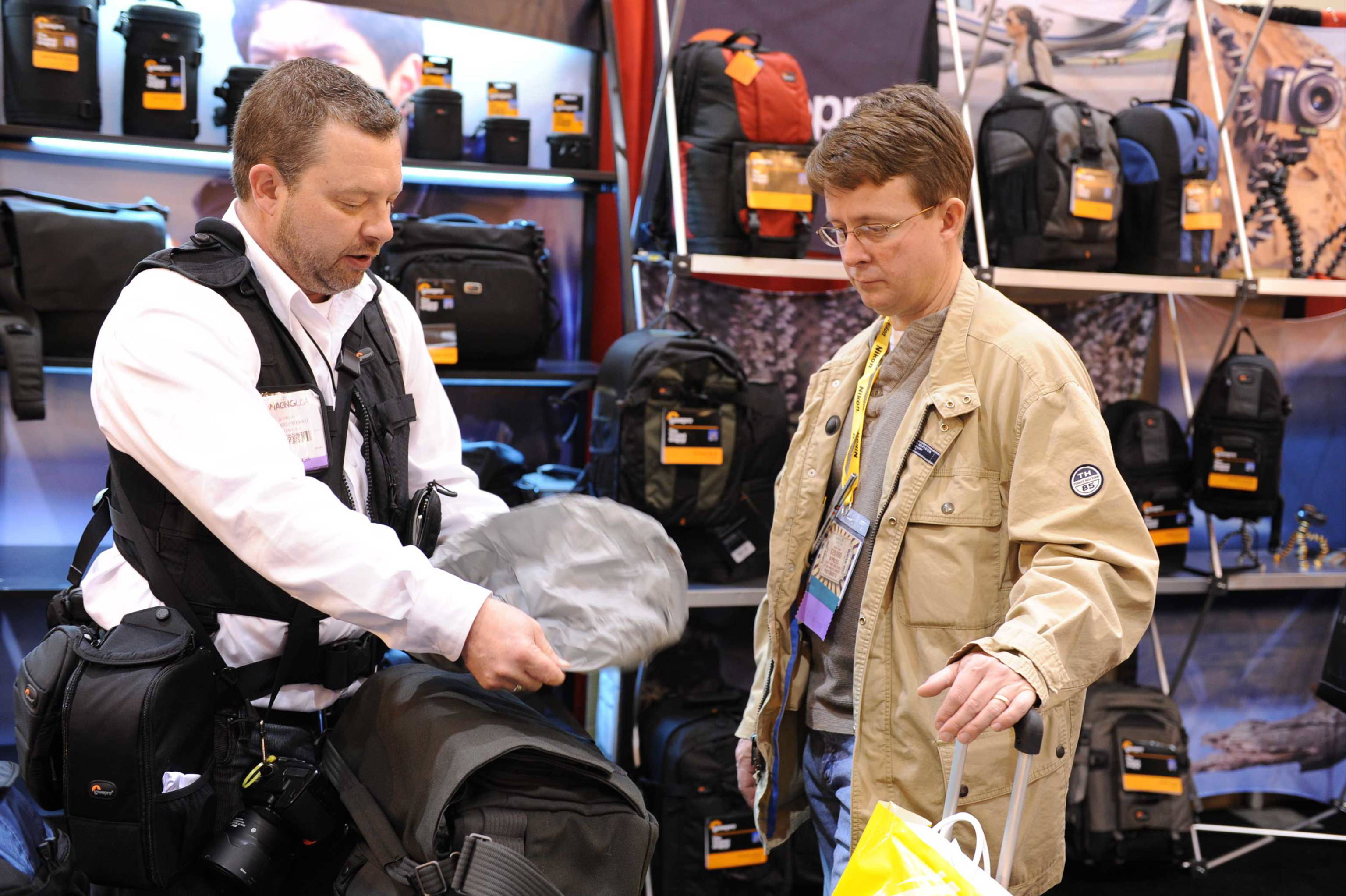 Lowepro at Imaging USA in NoLa