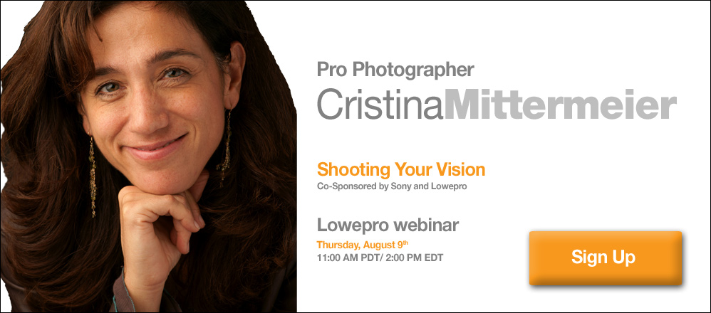 Sign Up for a Free Cristina Mittermeier Webinar: Event Takes Place Thursday, August 9