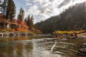 Snake River fly fishing © Rick Saez