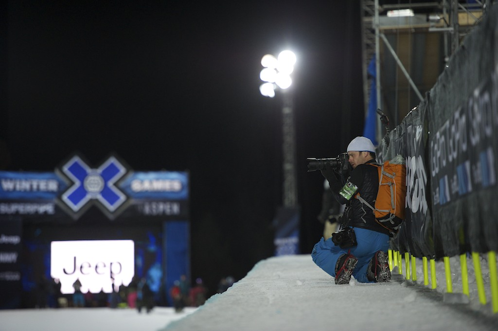 High-Altitude Action at the X Games Aspen: Brett Wilhelm and Lowepro