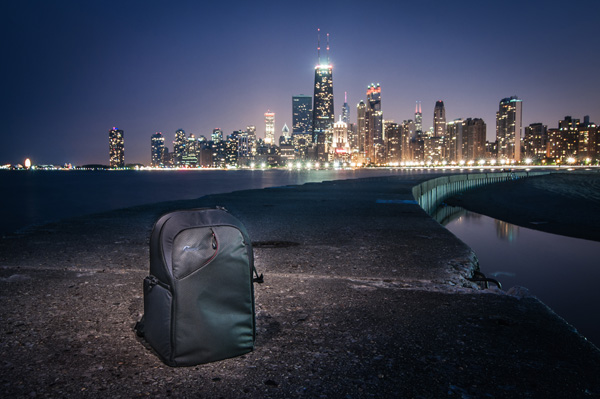 New Urban Backpack Fits the Pace of Chicago Photographer Brad Snyder