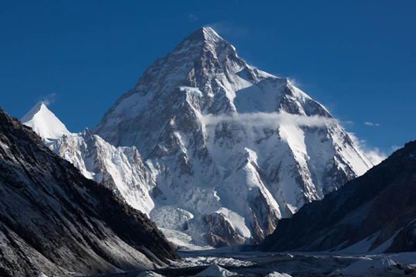 K2, Godwin Austen Glacier, Karakoram Mountains, Pakistan. © Colin Prior