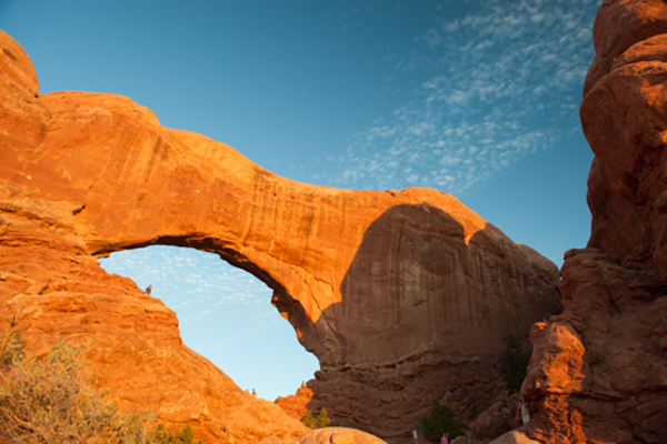 South Arch off of The Windows Road, Arches National Park. © Ryan Hetzel