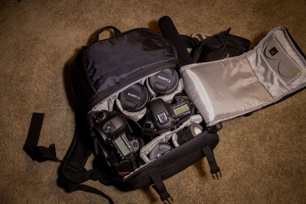 Videographer's Fastpack. © Kaard Bombe
