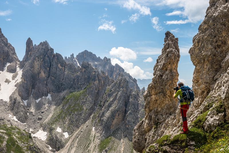 The Dolomites from a slope near Misurina village, South Tirol, Italy. © Kamil Tamiola and Lumi Toma