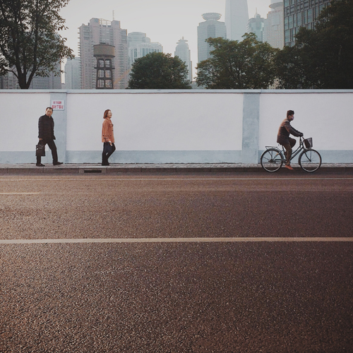 Instagram Shanghai street scene. © Brandon Page