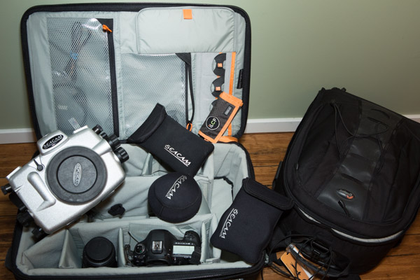What to pack for an underwater shoot? Michele Westmorland shares what's inside her Pro Roller x200.
