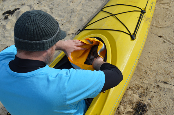 The DryZone series goes coastal on Tomales Bay with Blue Waters Kayaking