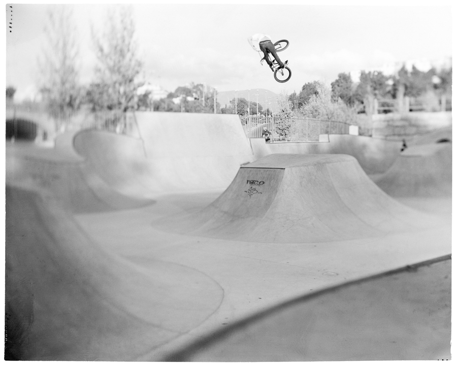 Profile on George Marshall, BMX and Shooting Out of One's Comfort Zone