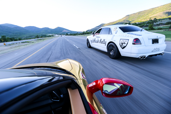 Profile on Verone: A fast & fabulous view from a Ferrari 458 at the goldRush Rally