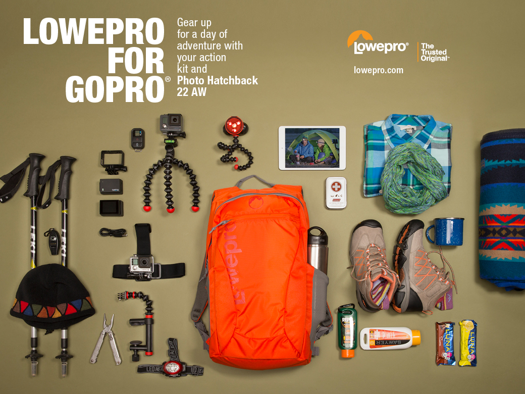 Protect your action video gear with Lowepro for GoPro solutions (hint: great gift ideas!)