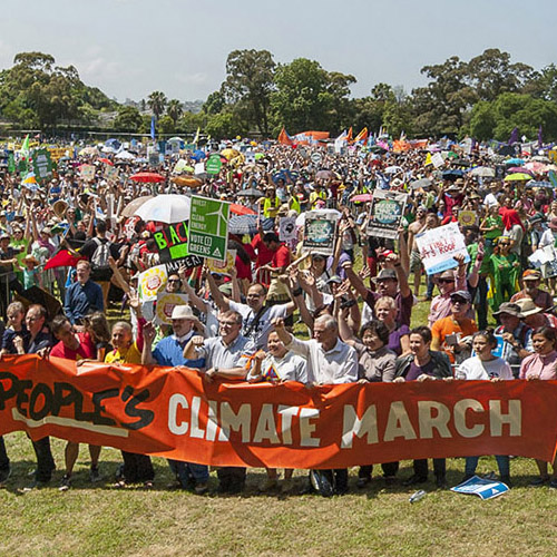 Fastpack 250 AW II and the People's Climate March