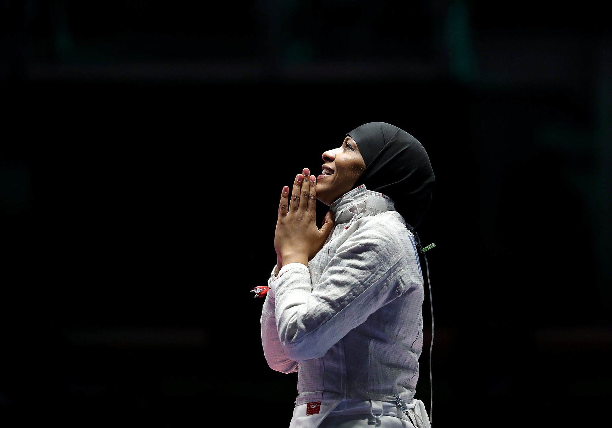 Fencer at Rio Olympic Games