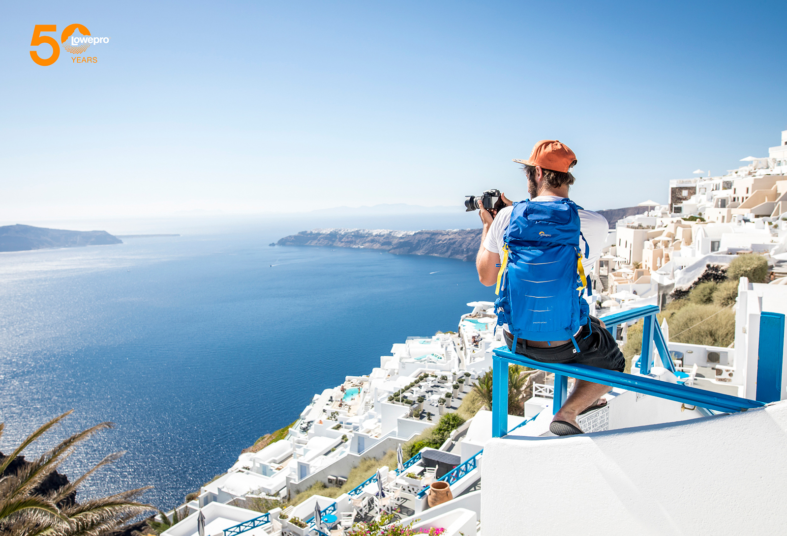 Lowepro Visits Santorini Greece