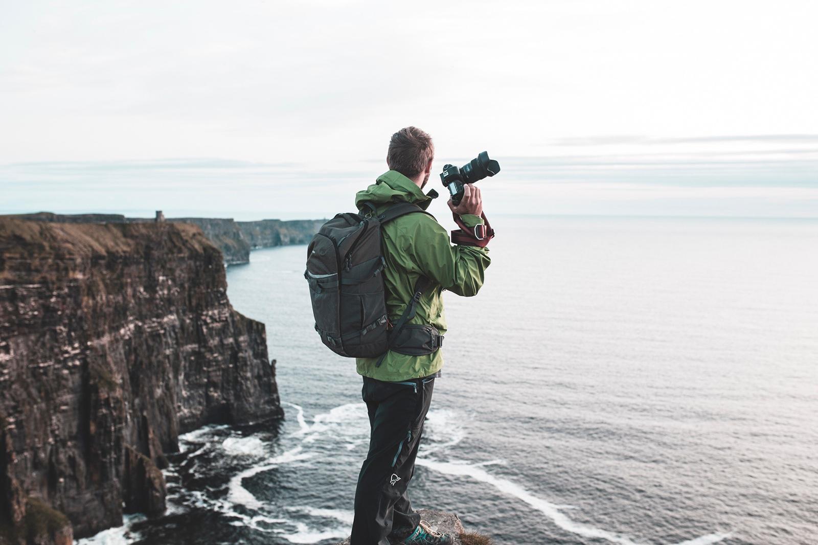 The Landscape of Ireland with Lowepro's Flipside Trek Series